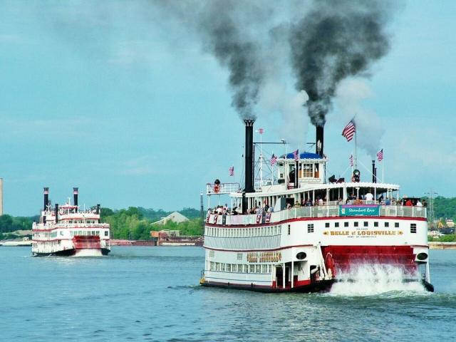 The great steamboat race