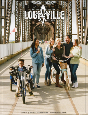 Louisville Visitor Guide Cover